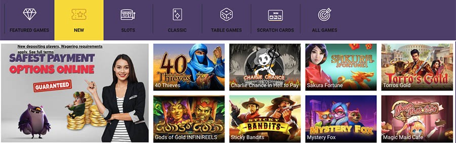 spinshake casino games