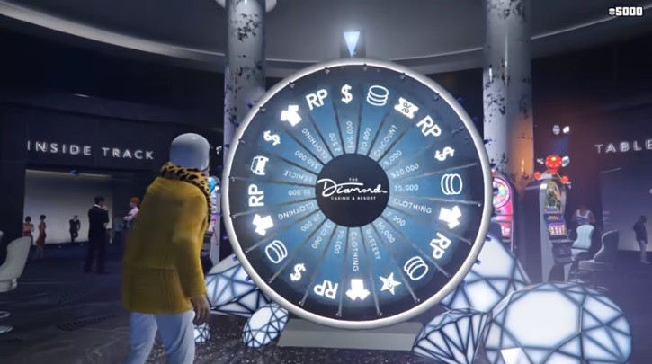 Wheel of Fortune in GTA 5